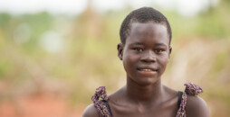 Annet Konga(pictured), 16 is now the head-of-household for her three siblings - Emmanuel Longa, 13, Irene Kobang, 8 AND (Juru) Gladys, 6. Both of her parents died of HIV and TB in 2012, long before she and her family were forced to flee in 2016 from the violence of civil war in her native South Sudan.