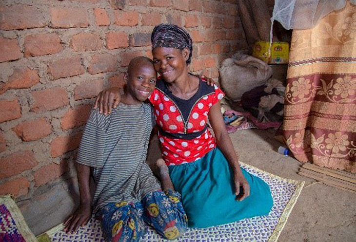 Through the support of a CRS social worker, Ezekiel was reunited with his mother, Dembe, after living in an orphanage in Uganda. * *Names changed for privacy. This is restricted for CG use only.
