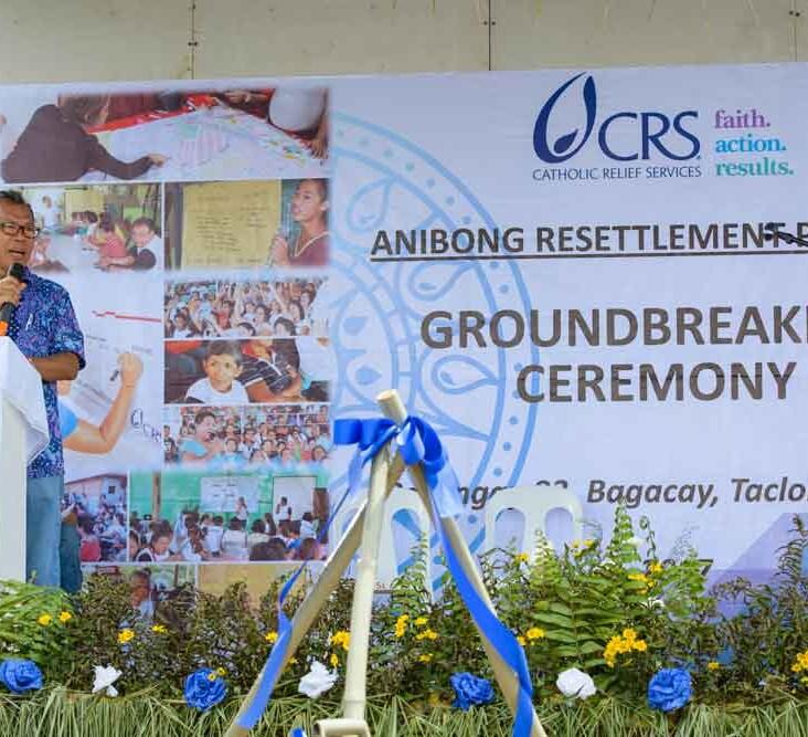 John William Girsang, CRS technical advisor for shelter programs.